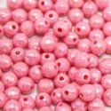 Beads, Acrylic, pink, Spherical, Diameter 7mm, NA, 40 Beads, (SLZ0210)